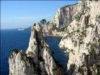 Calanques, du ct des croulants