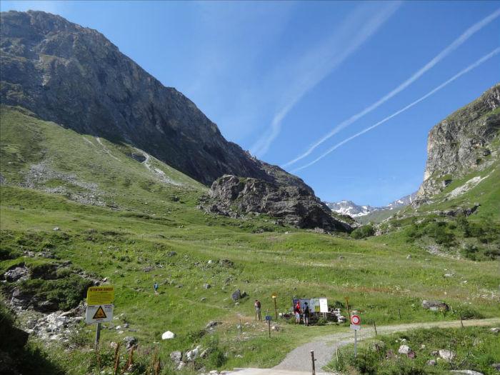 Falaise du Manchet, Val d`Isère, Vanoise